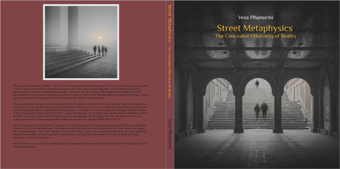 Street Metaphysics Book Vesa Pihanurmi Monograph